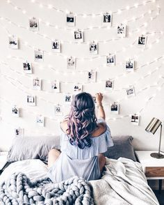 49 Easy and Cute Teen Room Decor Ideas for Girl - wohnideen wohnzimmer - Dorm Room Dream Rooms, Dream Bedroom, Girls Bedroom, Diy Bedroom, Bedroom Wall, Bedroom Decor Teen, Room Decor Diy For Teens, Diys For Your Room, Cute Diy Room Decor