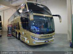 Ônibus da empresa Premium Auto Ônibus, carro 2017, carroceria Comil Campione Invictus DD, chassi Volvo B450R. Foto na cidade de - por Daniel Saraiva Cordeiro CMR, publicada em 03/09/2017 14:59:04.