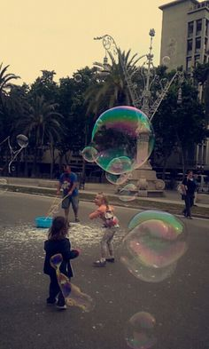 Kids and bubbles:)
