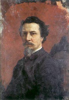Henryk Siemiradzki Self Portrait by Henryk Siemiradzki