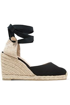 7522b3c10df Castañer - Carina 80 canvas wedge espadrilles