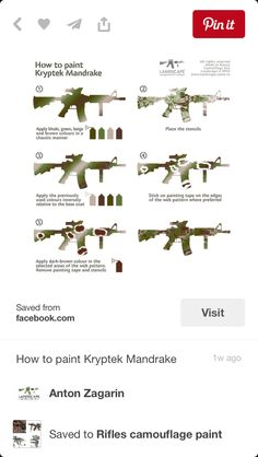 Camo Stencil, Camo Guns, Web Patterns, Tape Painting, Camouflage Patterns, Dark Brown Color, Airsoft Guns, Art Pictures, Art Pics