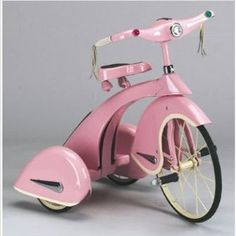 Sky King Trike - Princess Pink [I would have KILLED for this as a kid] [bicycle, tricycle]