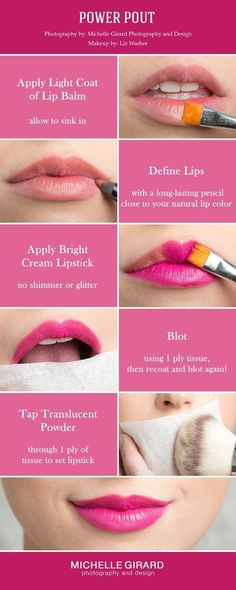 Get rid of cold sores with garlic cold sore garlic and natural how to apply a bold pink powerful lip makeup tutorial red carpet makeup look wedding makeup to make a statement seen on style me pretty michelle ccuart Gallery