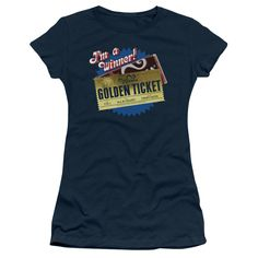 Charlie and the Chocolate Factory: Golden Ticket Junior T-Shirt