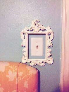Picture frame light switch | Unique Light Switches | Pinterest .