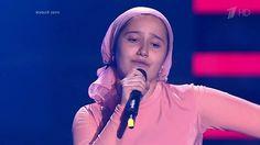 """Раяна Асланбекова. """"Derniere danse"""" - Слепые прослушивания - Голос Дети ..."""