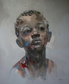 Portrait by Ryan Hewett | Beautiful Young Black Man!