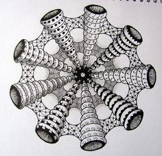 artisticascuola: Doodle Art e Zentangles... affascinanti giochi di linee.