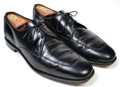 ALLEN EDMONDS Burton Black Mens Stitched Toe Oxford Dress Shoes Size 11.5 D #AllenEdmonds #Oxfords #shoes #tailoredconsignment