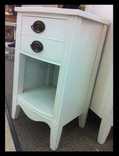 Beautiful Vintage Duncan Phyfe Nightstand  solid by SimplyParis, $129.00