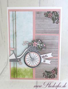 In{k}spire_me Challenge #305 – I love bicycling {oder eher das tolle neue Stempelset} | Fliederfee – Stampin' Up! Hockenheim