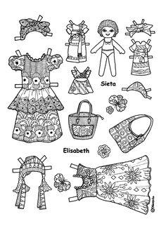 Karen`s Paper Dolls: Elisabeth