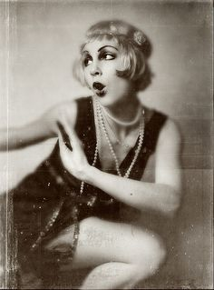 Flapper Halloween costume!