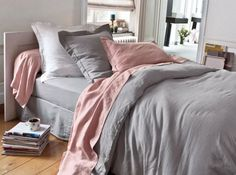 Blush pink and grey comforter set king queen home improvement gray bedding sets alluring aw quilt . Pink Bedroom Decor, Pink Bedrooms, Gold Bedroom, Bedroom Inspo, Dream Bedroom, Bedroom Ideas, Shabby Bedroom, Romantic Bedrooms, Small Bedrooms