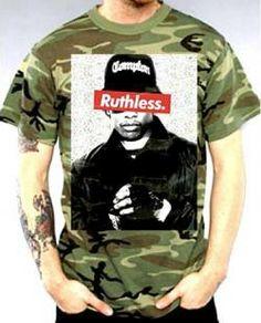 Eazy E T-Shirt - Ruthless Camo