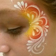 Simple face painting designs are not hard. Many people think that in order to have a great face painting creation, they have to use complex designs, rather then Girl Face Painting, Painting For Kids, Face Paintings, Simple Face Painting, Painting Art, Tinta Facial, Christmas Face Painting, Cheek Art, Too Faced