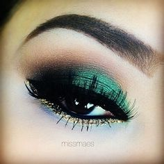 By Mel C. awesome #emerald look by @Melissa Squires Squires Henson Mae @Bloom.COM