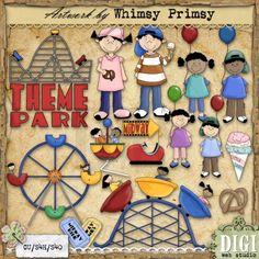 Theme Park 1 - Whimsy Primsy Clip Art Download