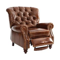 Oversized for the tall gentleman in your home. Its big and still looks great. Get rid of his unsightly recliner and replace it with the Walker recliner!