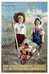 Poster: Helping Hoover in our U.S. School Garden