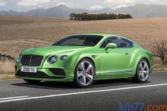 Bentley Continental GT Continental GT Speed Continental GT Speed Coupé Exterior Frontal-Lateral 2 puertas