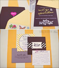 Wedding invites. Please visit A Silverware Affair at http://www.asilverwareaffair.net for all of your event/catering needs. #Catering #Wedding #Invitations #Invites #Chattanooga