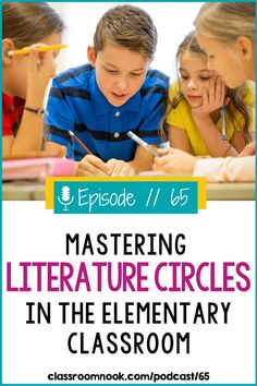 Listen today to learn how literature circles or book clubs are a powerful way to incorporate meaningful, student-led discussions, motivate struggling readers, and help your upper elementary students take more ownership of their learning. Learn more about how to successfully establish literature circles or book clubs in your 3rd, 4th, and 5th grade classroom in this new podcast episode. Get helpful tips, strategies, lesson ideas and a FREE think sheet to make literature circle work in your class! New Vocabulary Words, Vocabulary Practice, 5th Grade Teachers, 3rd Grade Classroom, Book Club Books, Book Clubs, Reading Comprehension Strategies, Third Grade Reading, Literature Circles