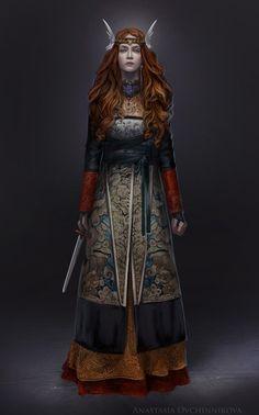 Northern Tales, Anastasia Ovchinnikova on ArtStation. (Insp// nadina, pirate queen )