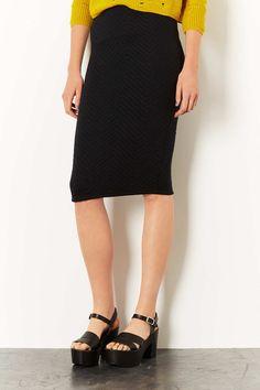 Photo 2 of Chevron Textured Tube Skirt @gtl_clothing #getthelook http://gtl.clothing
