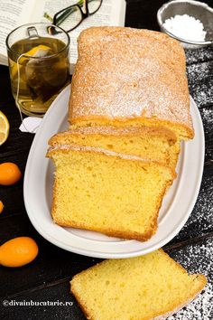 CHEC CU UNT 4*4   Diva in bucatarie Loaf Cake, Cornbread, Vanilla Cake, Deserts, Sweets, Lunch, Ethnic Recipes, Cakes, Millet Bread