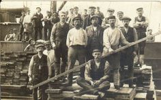 Rotterdamse havenarbeiders ( rond 1920)