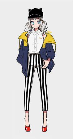 Rakugaki Moe Anime, Anime Chibi, Manga Anime, Anime Inspired Outfits, Anime Outfits, Pretty Anime Girl, Cool Anime Girl, Character Art, Character Design