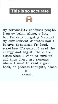 #energy #vibes #introvert