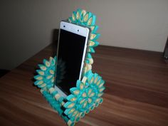 Quilling ♣ stojánek na mobil
