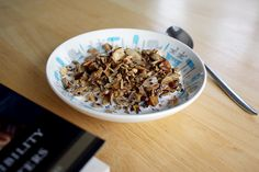 "Grainless granola. I'm afraid I'm a little bit addicted, and might be making this every week from now on. But it's so nice to be able to enjoy ""cereal"" in the morning again, and actually ENJOY it, unlike those tasteless low-carb products."