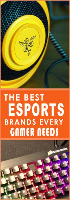 These companies spear headed gaming by challenging the current peripherals and demanding more. The first companies to mold gear specifically to gamers needs and provide competitive sponsorships for esports.