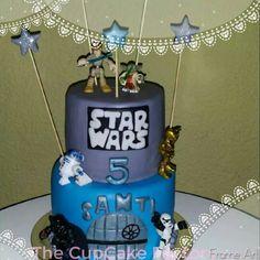 Cake StarWars #TheCupcakeFactorySLP