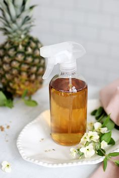 DIY: enzyme cleaner