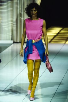 Versace Fall 1996 Ready-to-Wear Collection Photos - Vogue