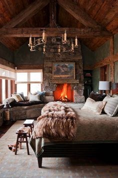 Nesting mountainside in Big Sky: A rustic-luxe oasis