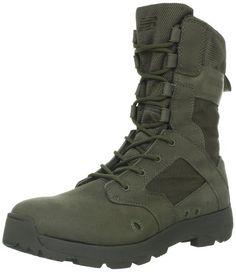 New Balance Tactical Men's Desertlite 8-Inch Boot,Sage Green,6 2E US
