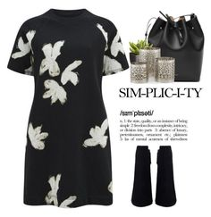 """""""- Simple -"""" by lolgenie ❤ liked on Polyvore featuring Marc by Marc Jacobs, Crate and Barrel, women's clothing, women, female, woman, misses and juniors"""