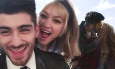 Gigi Hadid and Zayn Malik are smitten in BTS footage from Vogue shoot