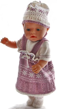 knitted-doll-clothes-patterns - A new design with love and care Doll Clothes Patterns, Clothing Patterns, Baby Born, Knitted Dolls, Southern Belle, Baby Dolls, Knitting Patterns, Crochet Hats, Fashion