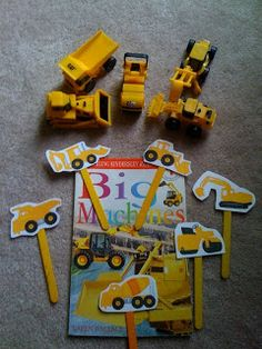 Preschool Printables: Construction Vehicles