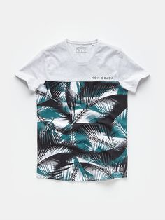 print T-shirt lightgrey