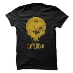 DAY OF THE DAED T-SHIRT - #thoughtful gift #gift girl. TRY  => https://www.sunfrog.com/Zombies/DAY-OF-THE-DAED-T-SHIRT.html?id=60505