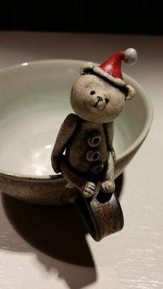 Coffee / Tea Cup with 'Santa' Bear By Kai Eckenbach - Bear Pile