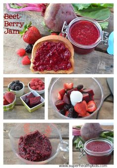 HIDDEN VEGGIES! My kids will never realize we added beets to their jam. It tastes just as sweet and delicious!